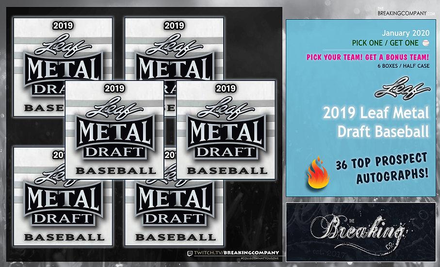 2019 Leaf Metal Draft Half Case P1G1