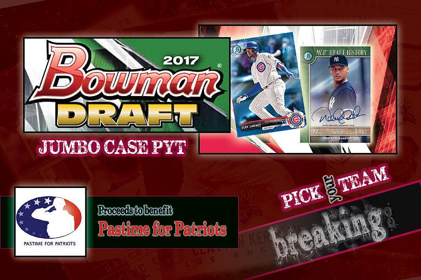 12/7: Bowman Draft Jumbo Case PYT