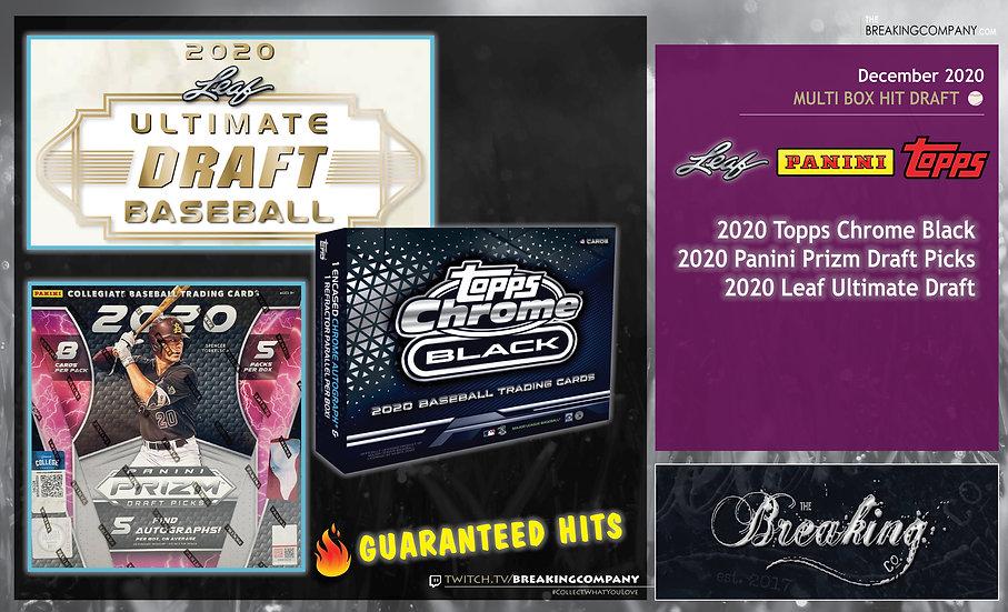 2020 Topps/Panini/ Leaf Baseball | Hit Draft
