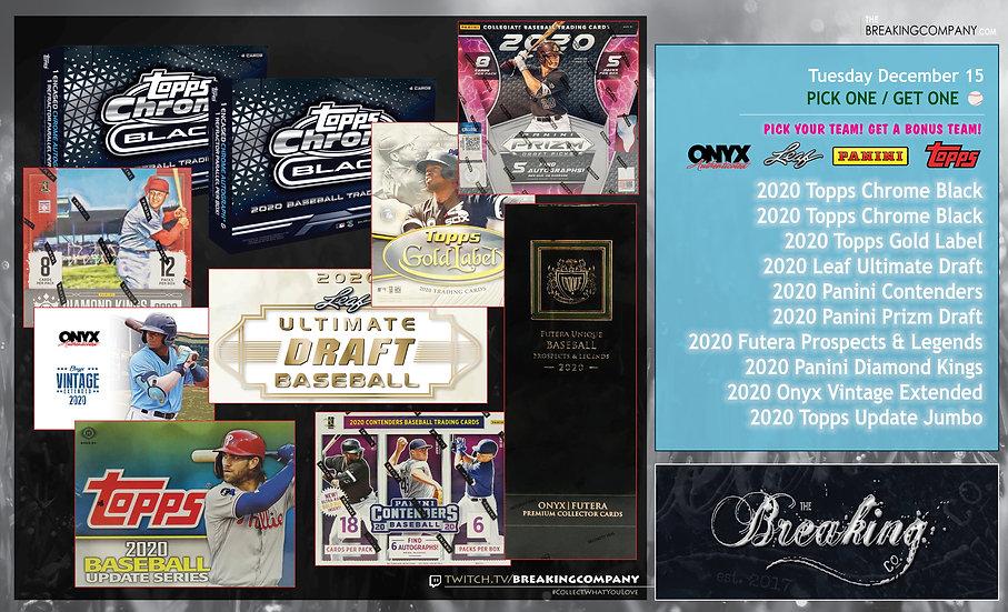 2020 10-Box Baseball Mixer   P1G1