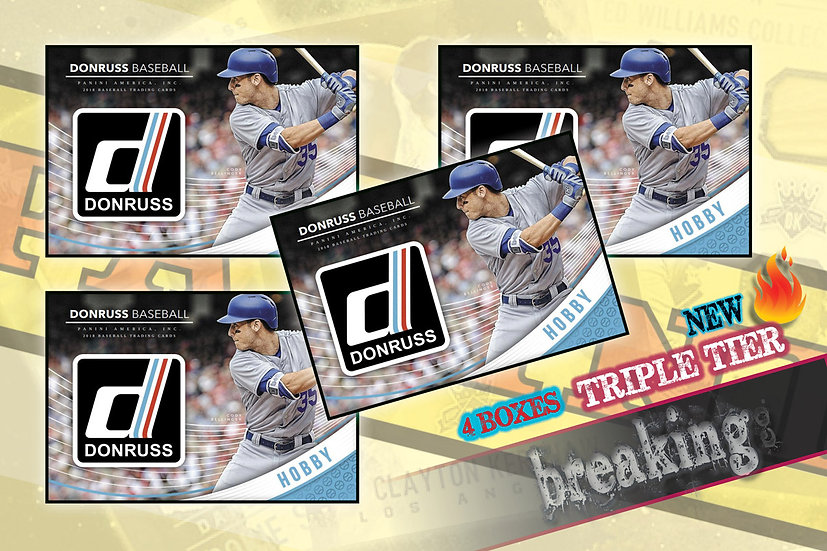 3/7: Donruss Triple Tier Draft
