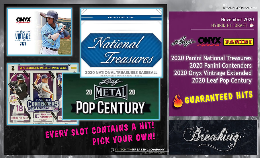 Pop Century / National Treasures / Contenders / Extended | Hybrid Hit Draft