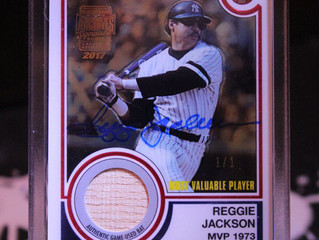 2017 Topps Archives Signature Series Postseason: Reggie Jackson 1/1