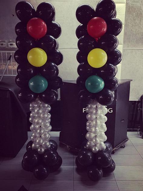Stoplight columns