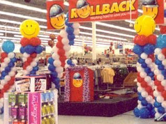 Walmart Arches and Columns