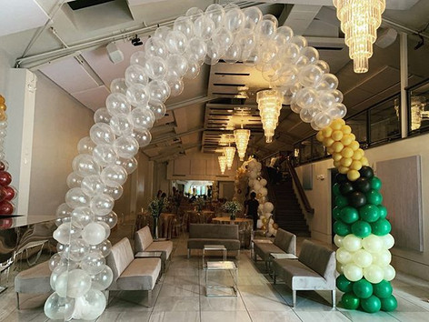 Champagne Helium Arch