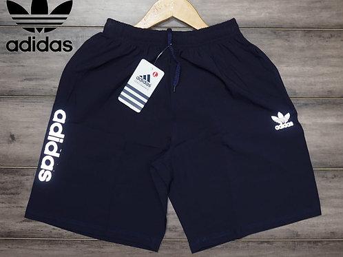 Adidas Men's Regular fit synthetic Shorts (DARK BLUE)