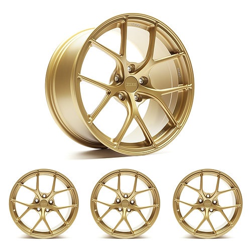 "Titan7 T-S5 COBB Edition 18"" x 9.5"" Cyber Gold Wheels"