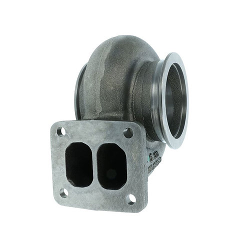 BorgWarner AirWerks Turbine Housing S400SX S400SX-E 87mm T4 Twinscroll 0.90ar -