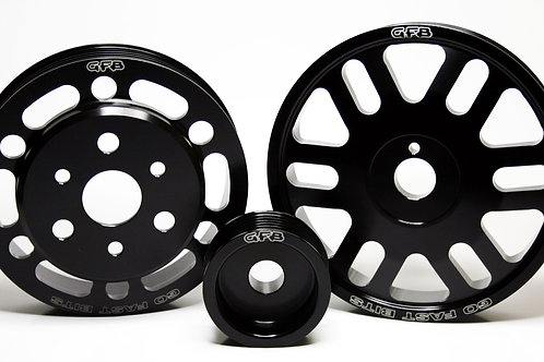 BRZ/86/FR-S Lightweight non-underdrive pulley kit (crank, alternator and water p