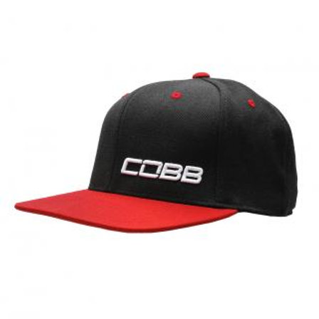 Black-Red Snapback COBB Cap