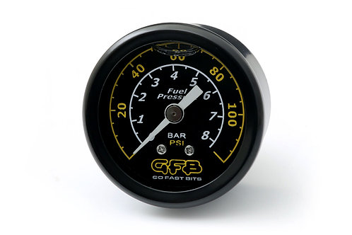 """FUEL PRESSURE GAUGE (Suits 8050/8060) 40mm/ 1 1/2"""" 1/8 MPT Thread: range from 0"""
