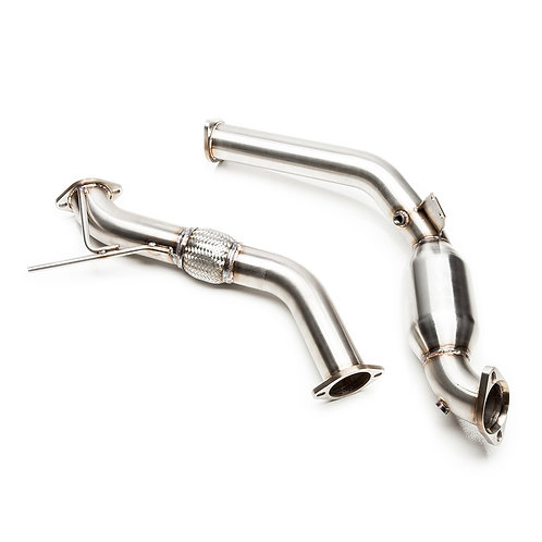 "Ford Catted 3"" Downpipe Mustang Ecoboost 2015-2019"