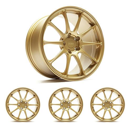 """Titan7 T-R10 COBB Edition 18"""" x 9.5"""" Cyber Gold Wheels"""