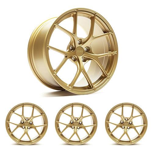 "Titan7 T-S5 COBB Edition 19"" x 9.5"" Cyber Gold Wheels"