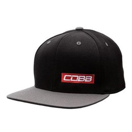 Black-Gray Snapback COBB Cap