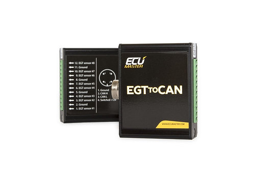 8EGT2CAN - 8 THERMOCOUPLE TO CANBUS MODULE