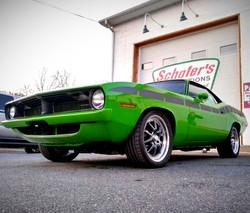 "1970 Cuda ""Mean Green Machine"""
