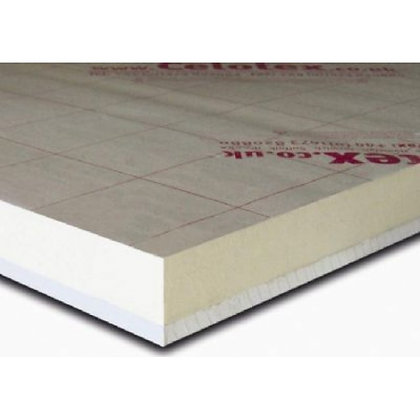 Insulated PIR Thermal Plasterboard 2400 x 1200 x 50.5mm