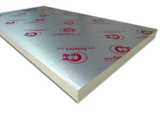 Rigid PIR Insulation Board 2400 x 1200 x 50mm