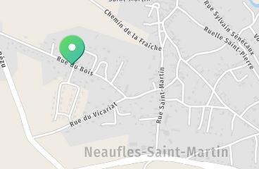 Plan Neaufles-Saint-Martin Eure Oise Val d'Oise Gisors