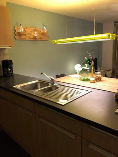 Keuken appartement Zeewinde Bredene