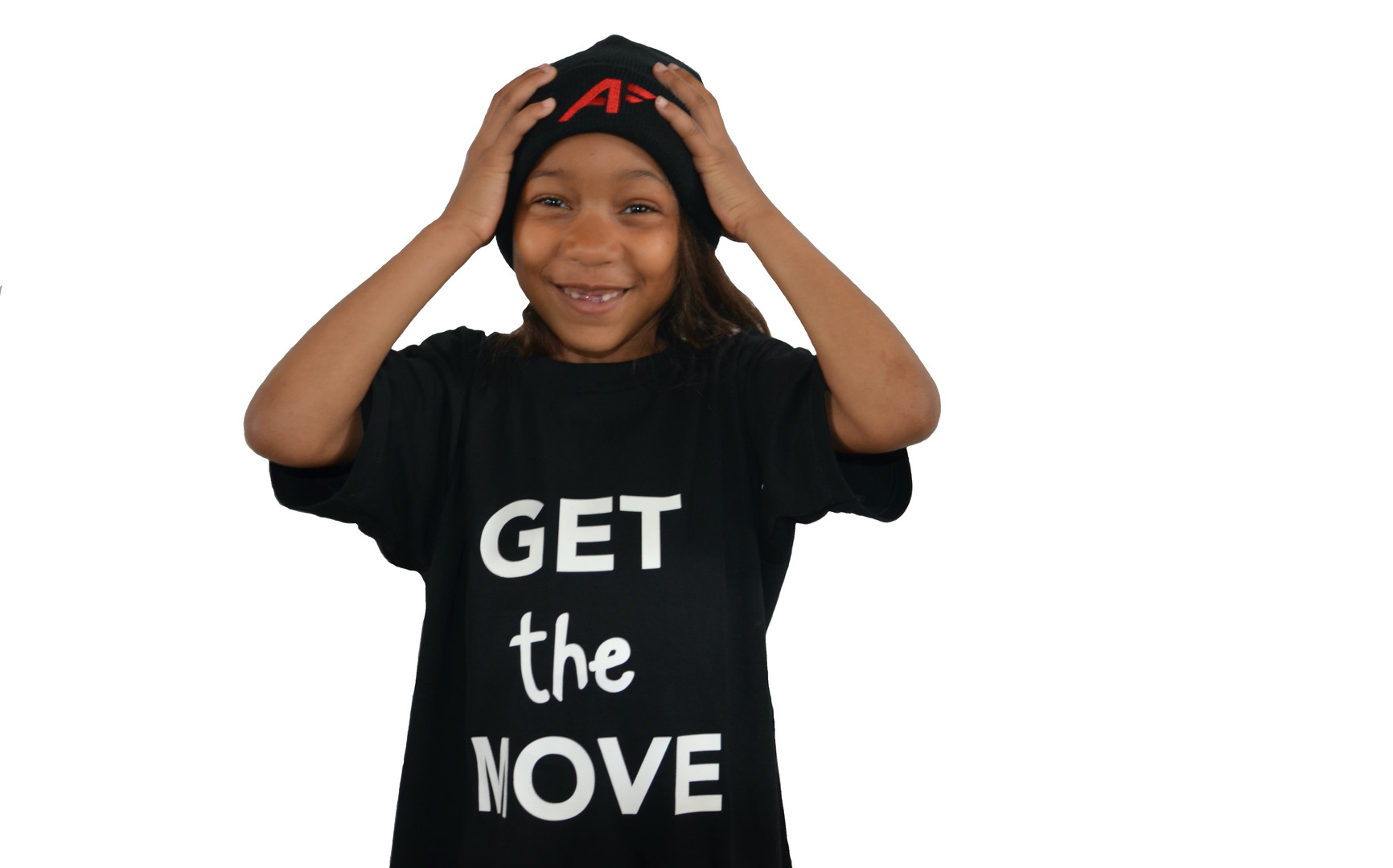 "T-shirt ""GET the MOVE"""