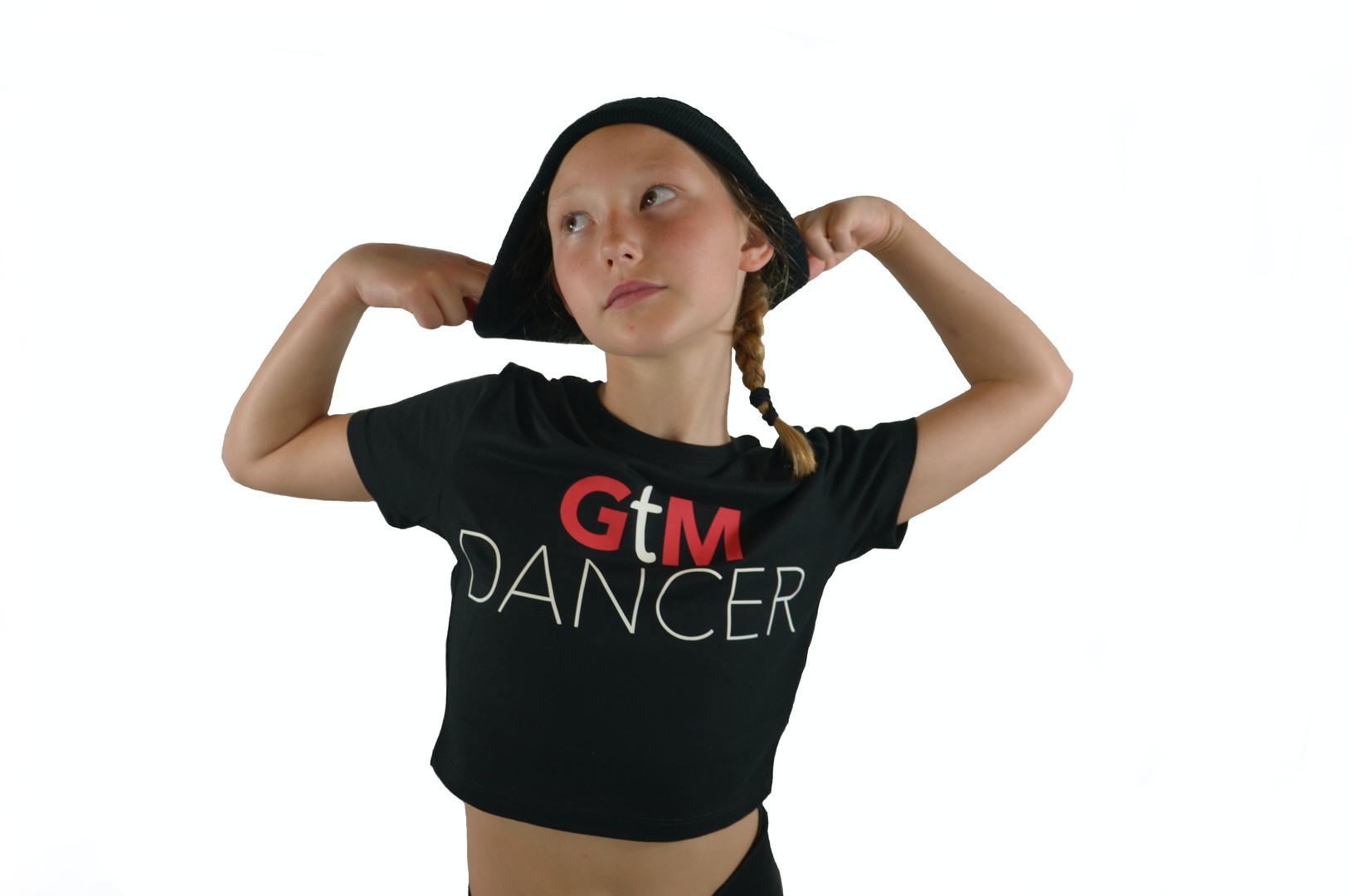 "Crop Tee ""GtM Dancer"" (Front)"