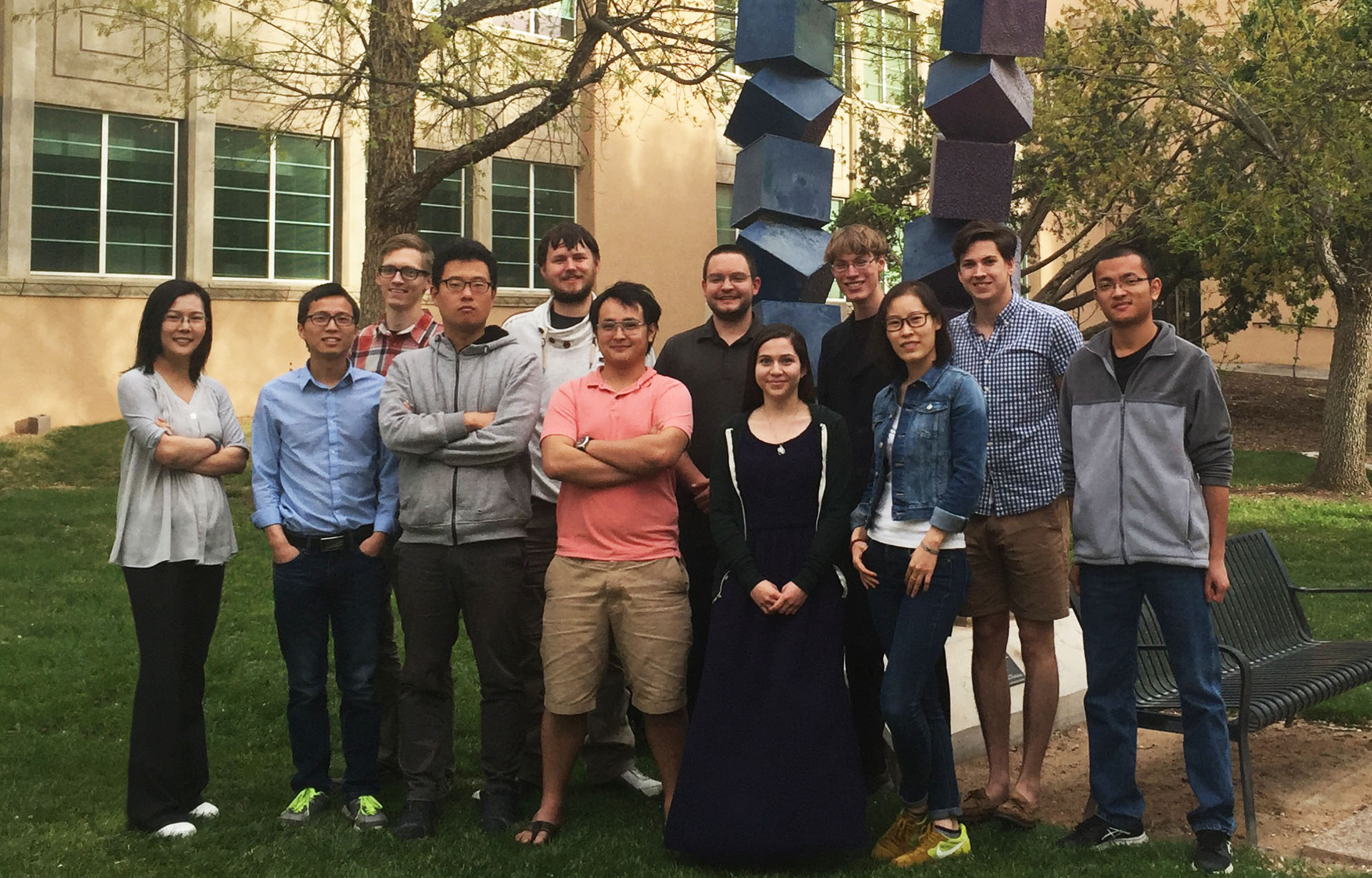Cui Group, Clark Hall, UNM, April 2017