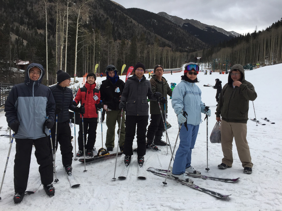 Group Ski Trip, Taos, NM, December 2017