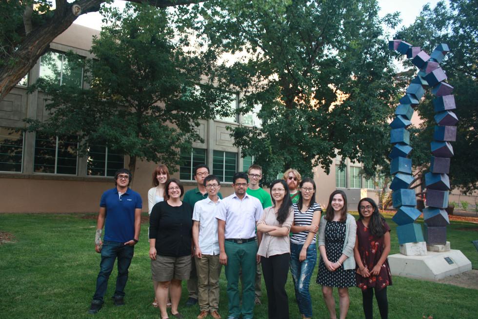 Cui group, Clark Hall, UNM, August 2015