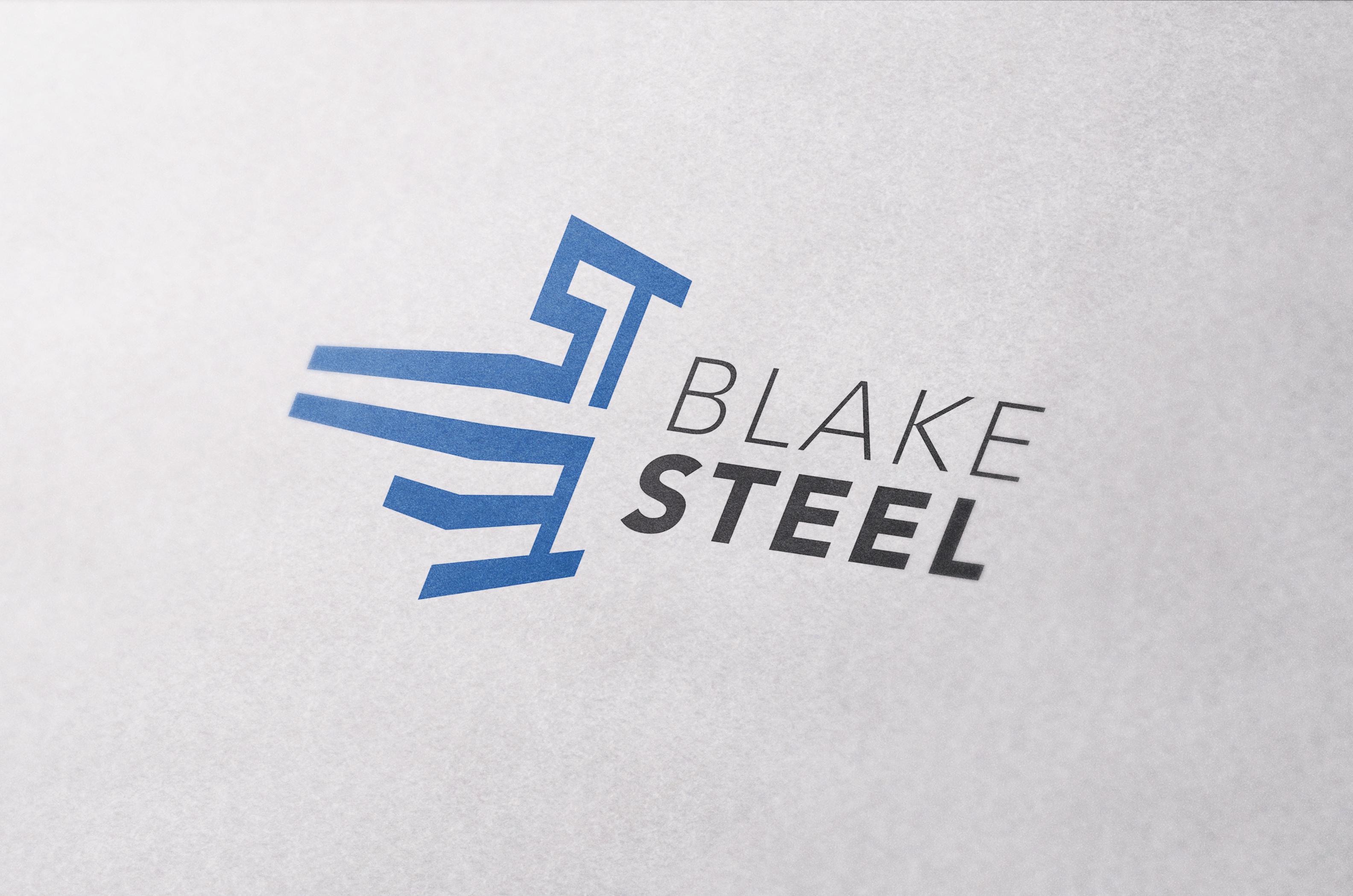 Blake Steel logo