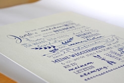 Typography   Vows