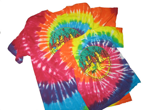 Cotton Tie-Dye T-shirts- ADULT