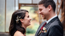 Rachael & Corey's Fall Farm Wedding