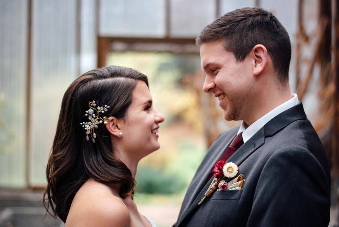 Rachael & Corey's Fall Farm Wedding