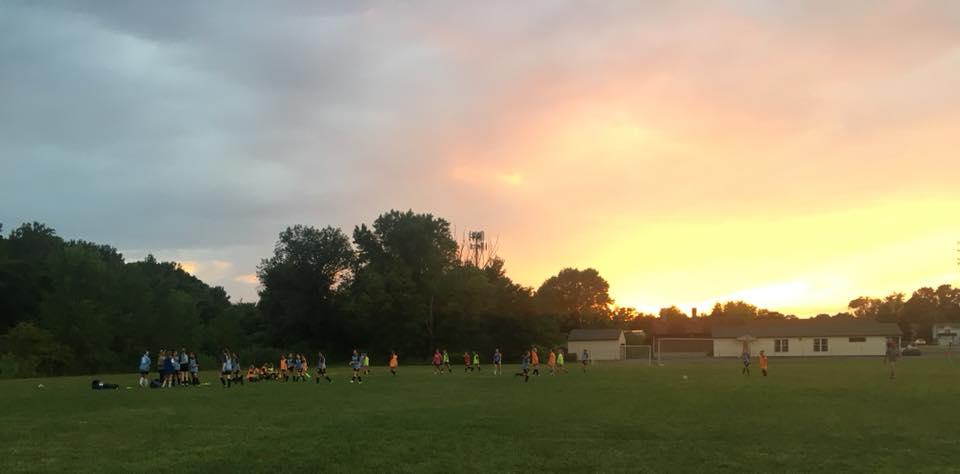 nice nite for soccer