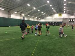 Goalie Training1