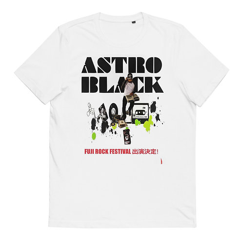 DJ Astro Black Fuji Rock Festival Organic Cotton T-Shirt