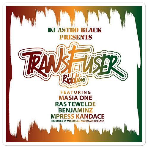 DJ Astro Black Presents: Transfuser Riddim Bubble-free stickers