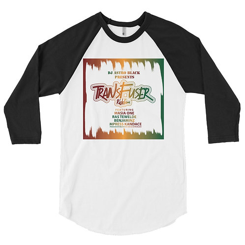 DJ Astro Black Presents: Transfuser Riddim Raglan 3/4 (Official Merchandise)