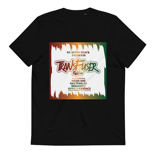 DJ Astro Black Presents: Transfuser Riddim  Organic Cotton T-Shirt