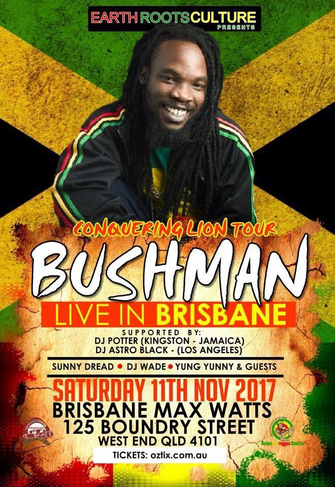 Bushman - Conquering Lion Tour