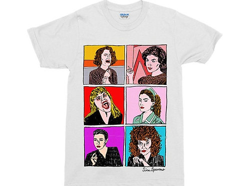 Women of Twin Peaks White T-Shirt