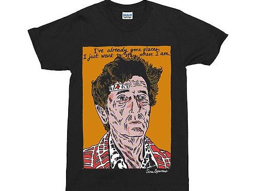Harry Dean Stanton Carl Rodd Twin Peaks Fire Walk With Me Black T-Shirt
