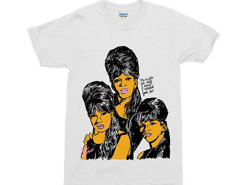 Ronettes White T-Shirt