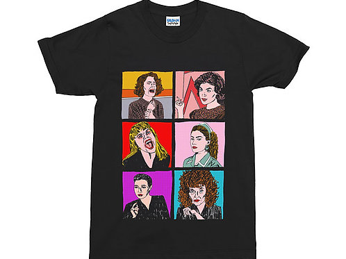 Women of Twin Peaks Black T-Shirt