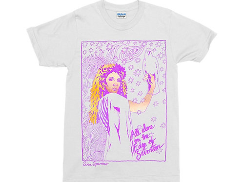Stevie Nicks White T-Shirt