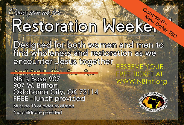 2020 April Restoration Weekend FB CX cop