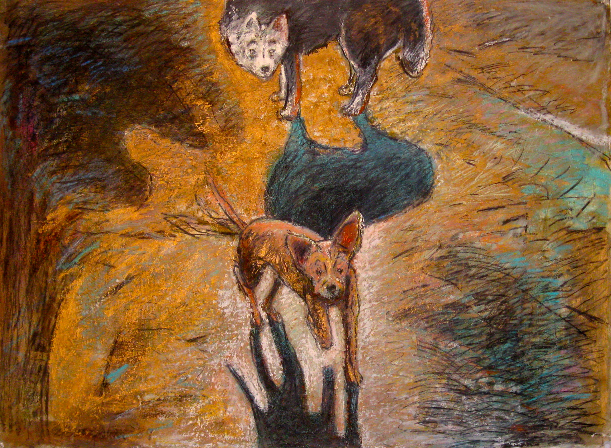 Sheba and Luna